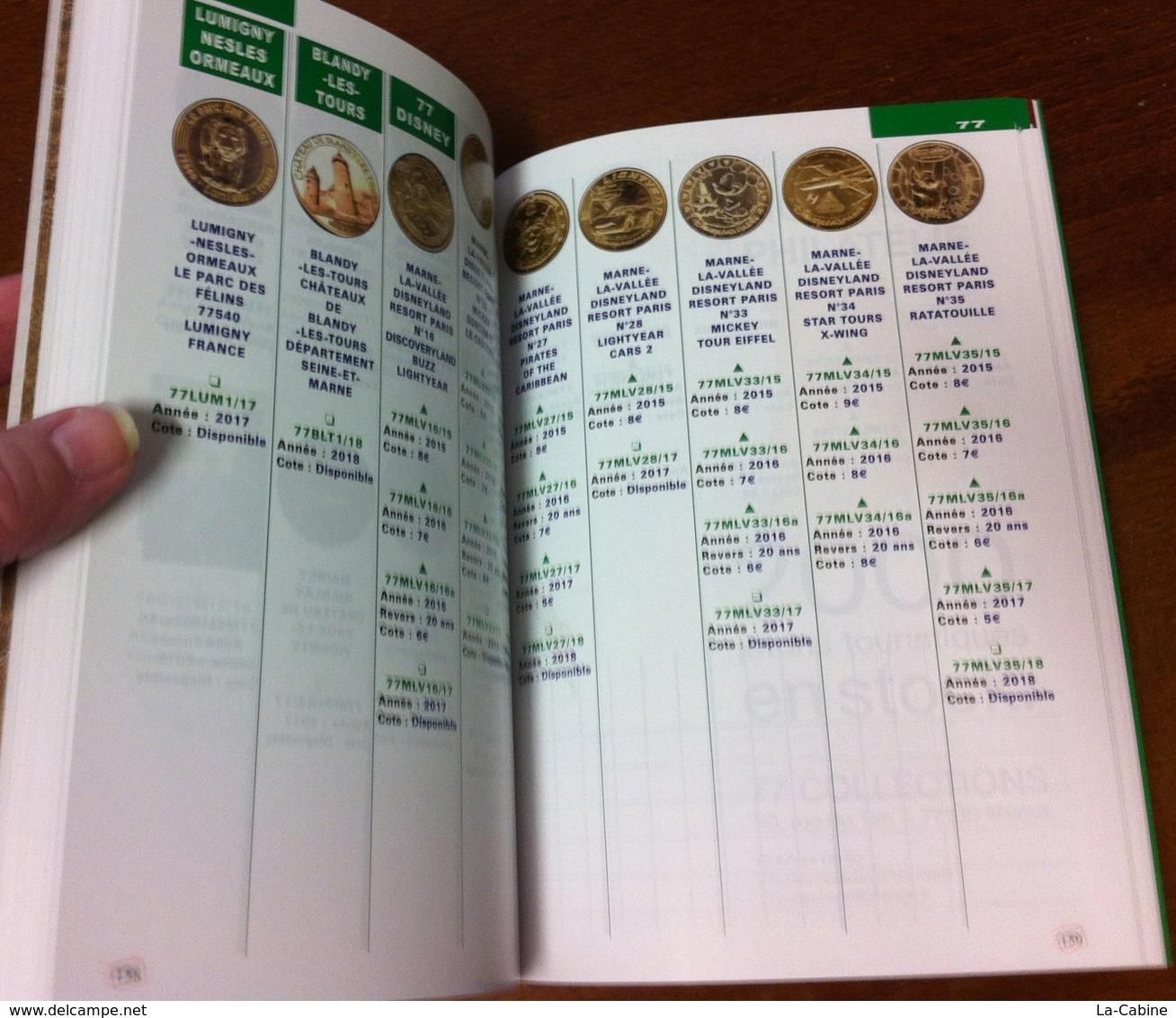 CATALOGUE OFFICIEL DES MEDAILLES SOUVENIR MONNAIE DE PARIS COTATIONS JETONS 2015 À 2018 & MÉDAILLE BRETAGNE COULEUR OR - Monnaie De Paris