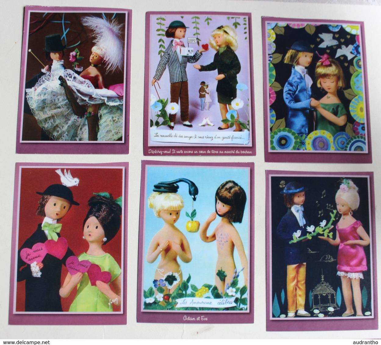 182 Images Les Amoureux De Peynet Calendrier Permanent 2007 Atlas - Calendriers