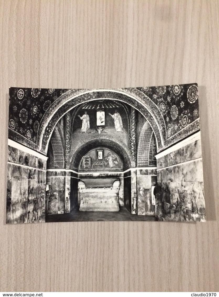 Cartolina-Ravenna-Mausoleo Di Galia Placidia V Sec.-Interno Visto Dall'ingresso - Ravenna