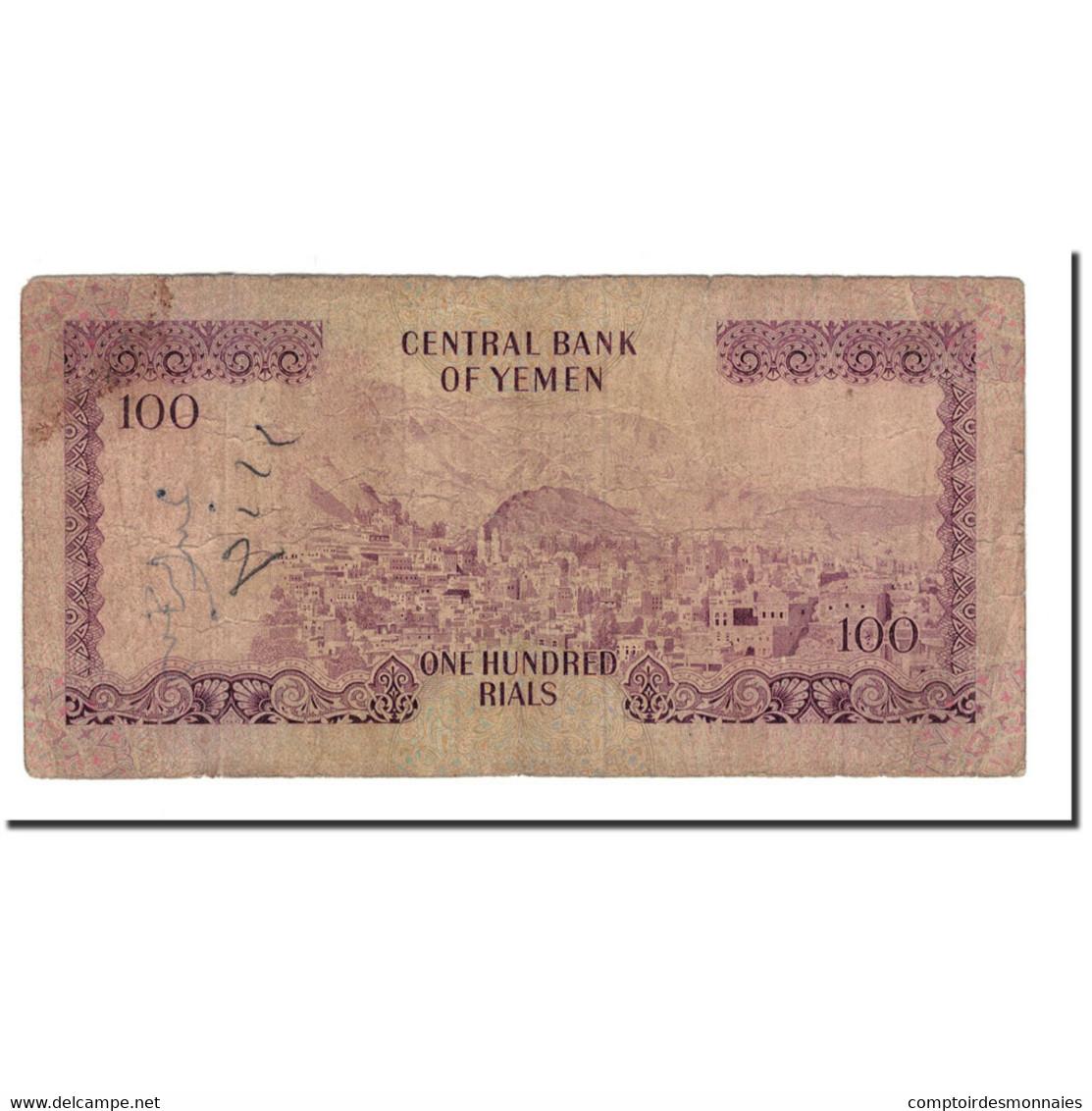 Billet, Yemen Arab Republic, 100 Rials, 1976, KM:16a, B - Yémen