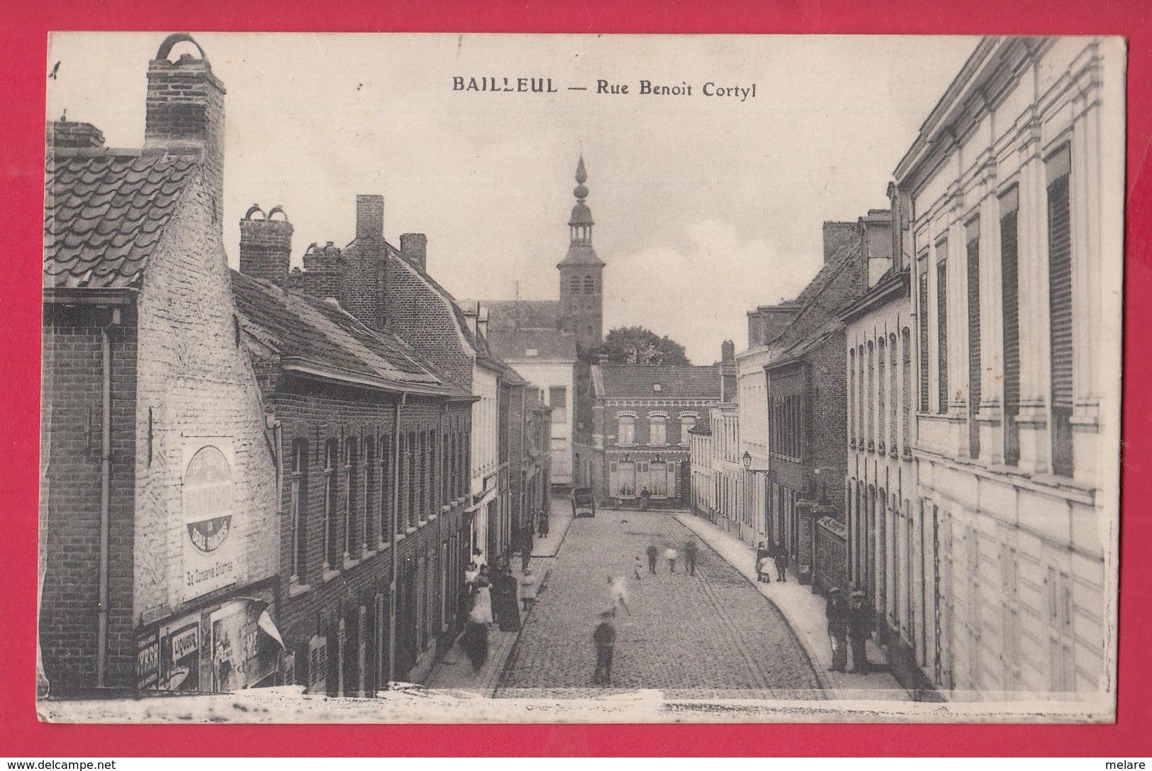 59 BAILLEUL  Rue Benoit Cortyl - Francia