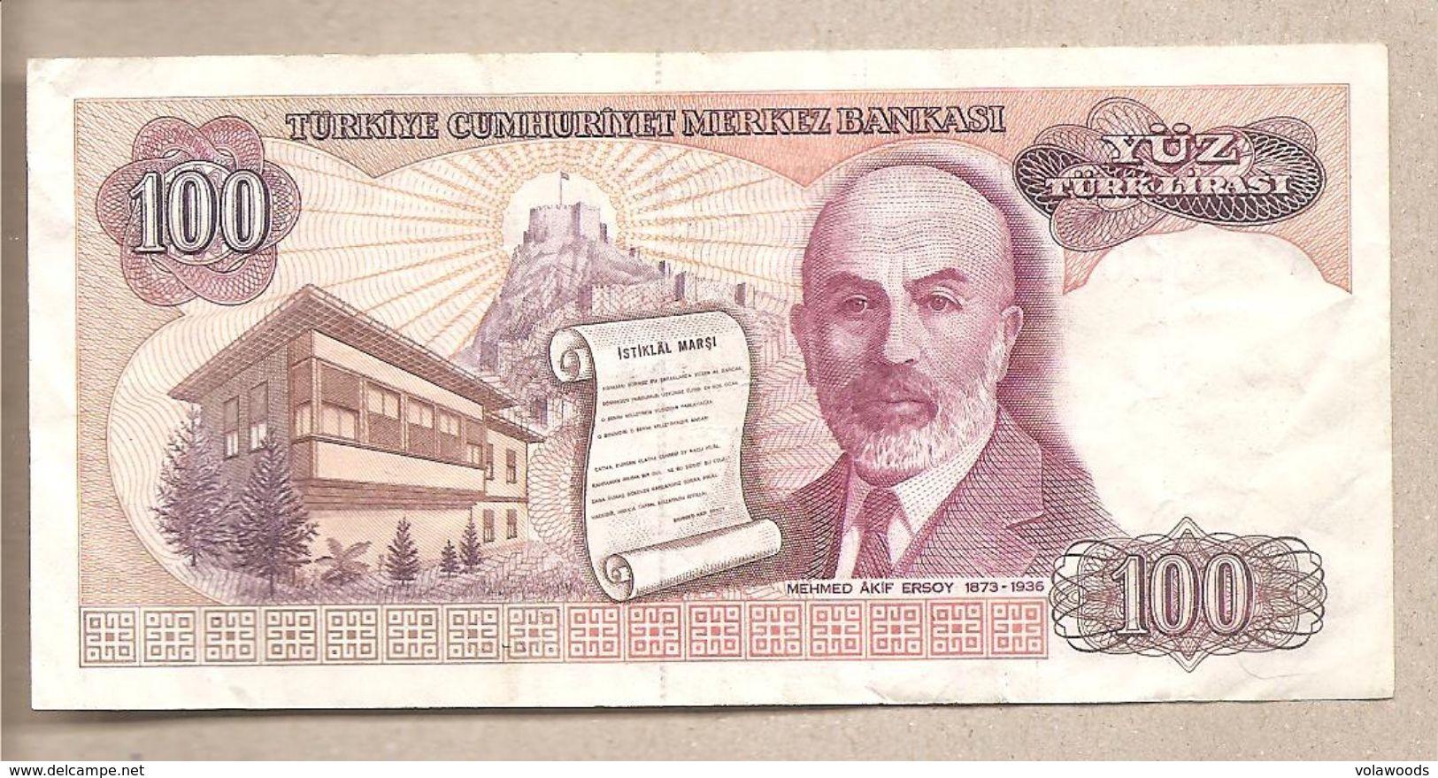 Turchia - Banconota Circolata Da 100 Lire P-194a.1 - 1983 - Turchia