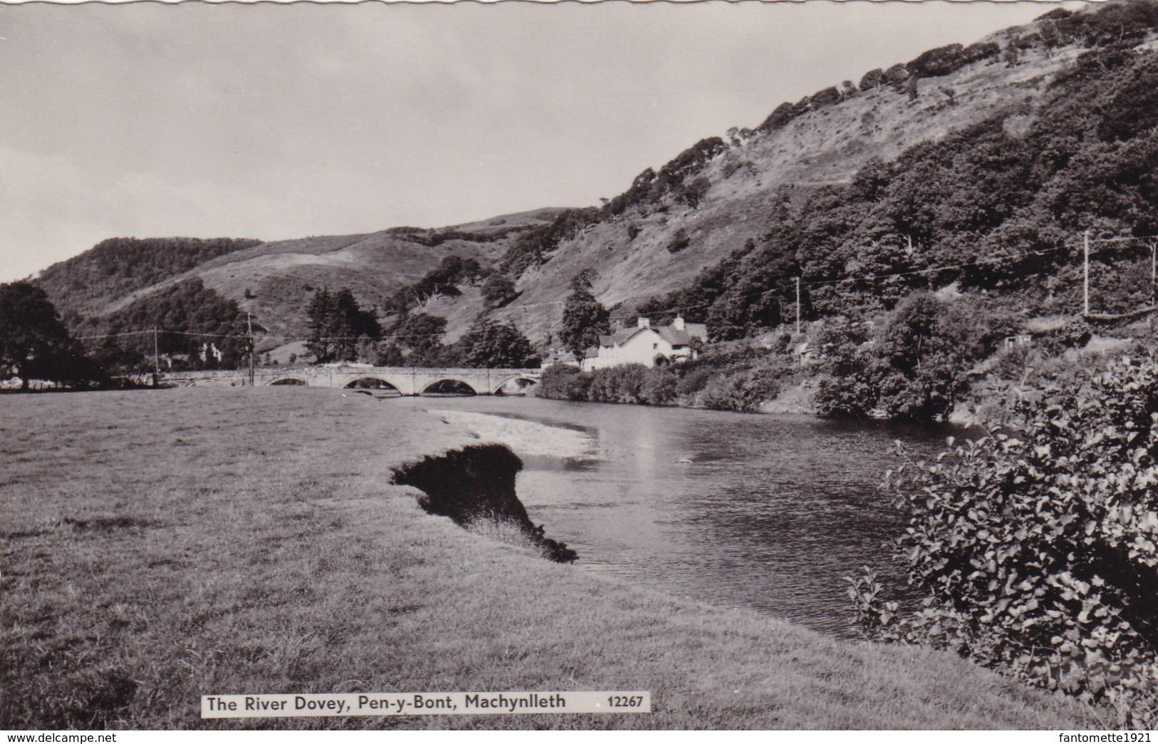 THE RIVER DOVEY  PEN Y BONT MACHYNLLETH (dil340) - Autres