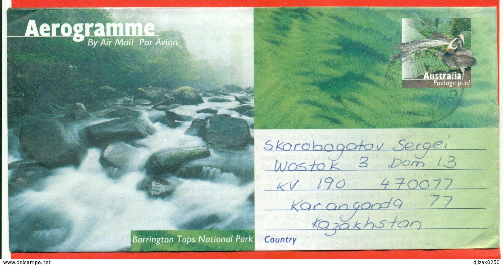 Australia 1997.Aerogramma Passed The Mail.Bird. Barrington Tops National Park. - 1990-99 Elizabeth II