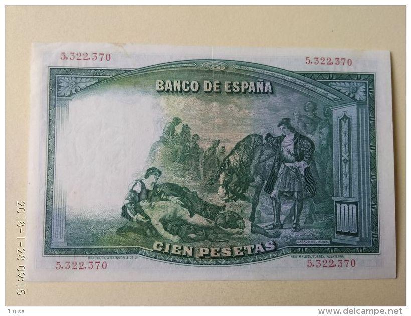 100 Pesetas 1931 - [ 2] 1931-1936 : Repubblica