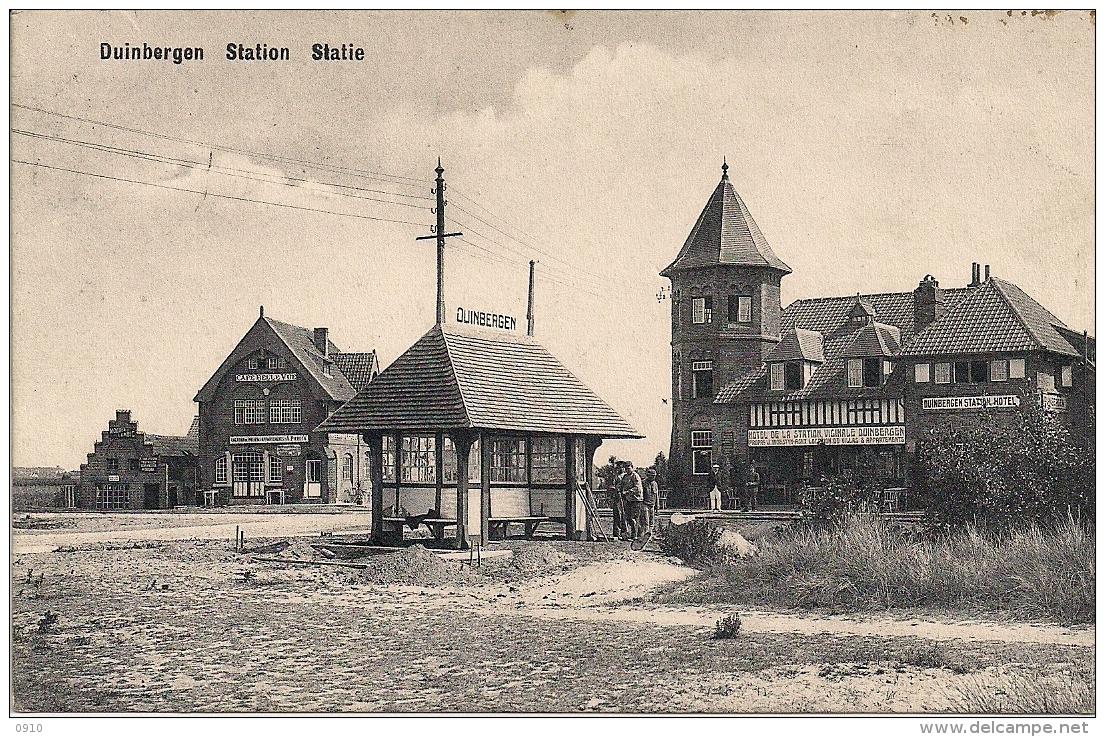 "DUINBERGEN ""STATION-STATIE"" HOTEL VICINALE DUINBERGEN - De Haan"