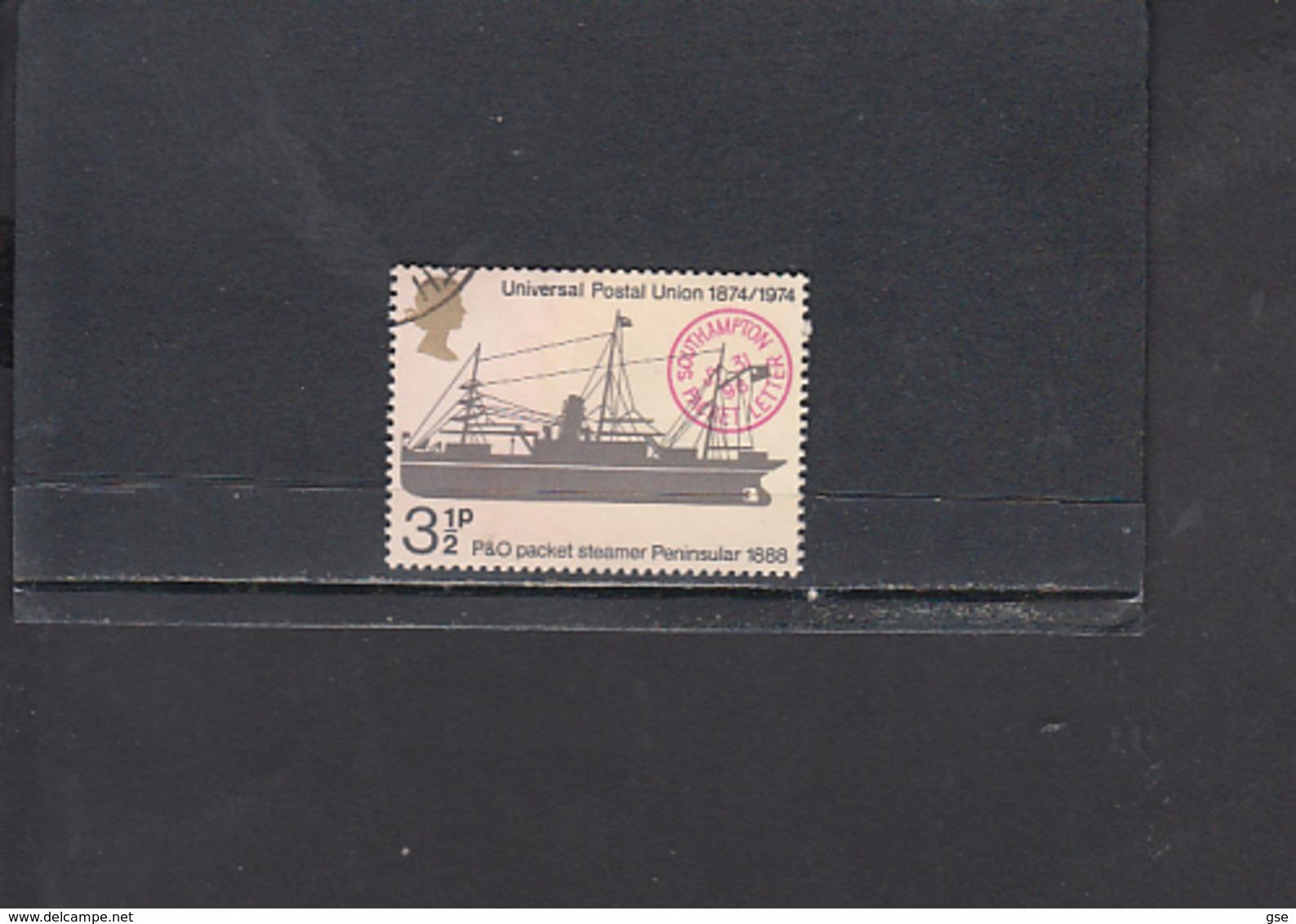 GRAN BRETAGNA  1974 - Unificato  725° - UPU - 1952-.... (Elisabetta II)