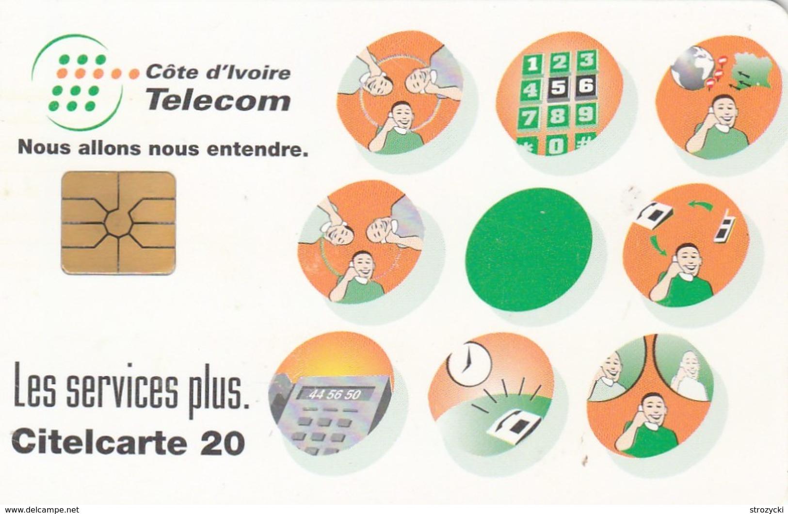 Ivory Coast - Telecom's Services - Ivoorkust