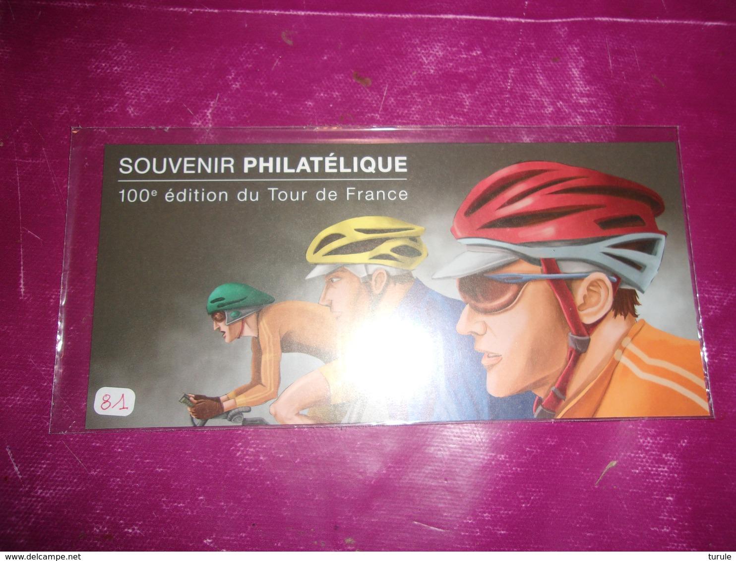 Bloc Souvenir 81 (cyclisme TOUR DE FRANCE) - Blocs Souvenir