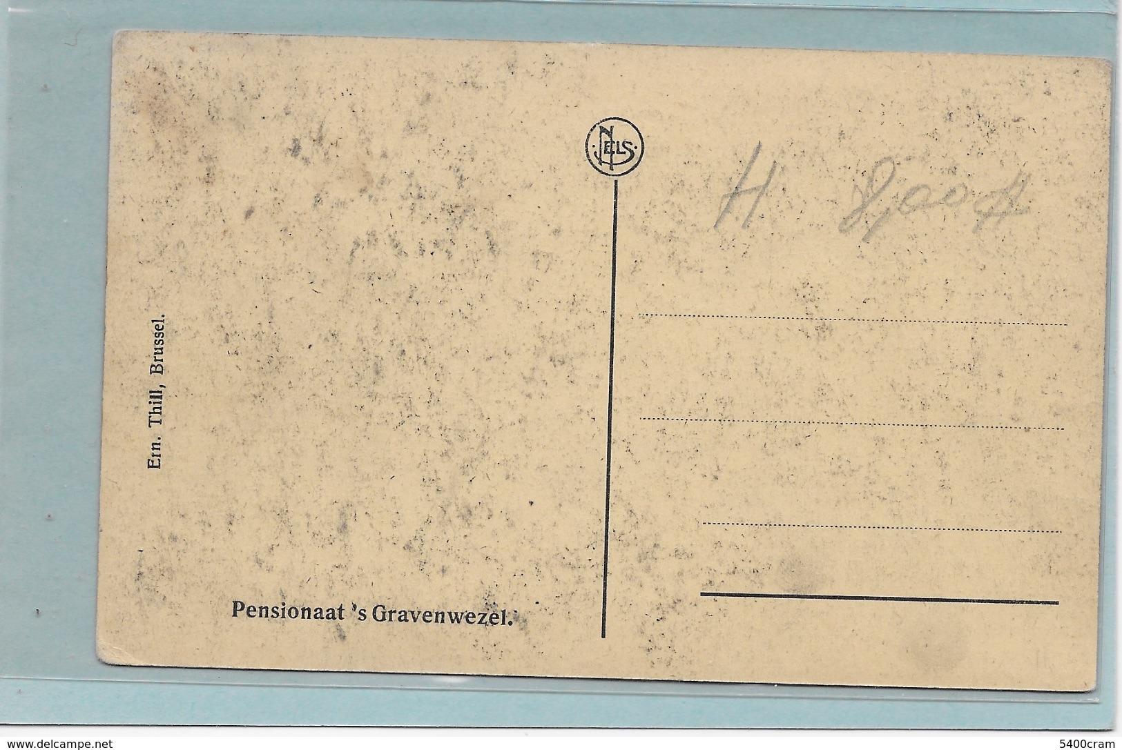 GRAVENWEZEL-SCHILDE: PENSIONAAT-MET VOLK - Schilde