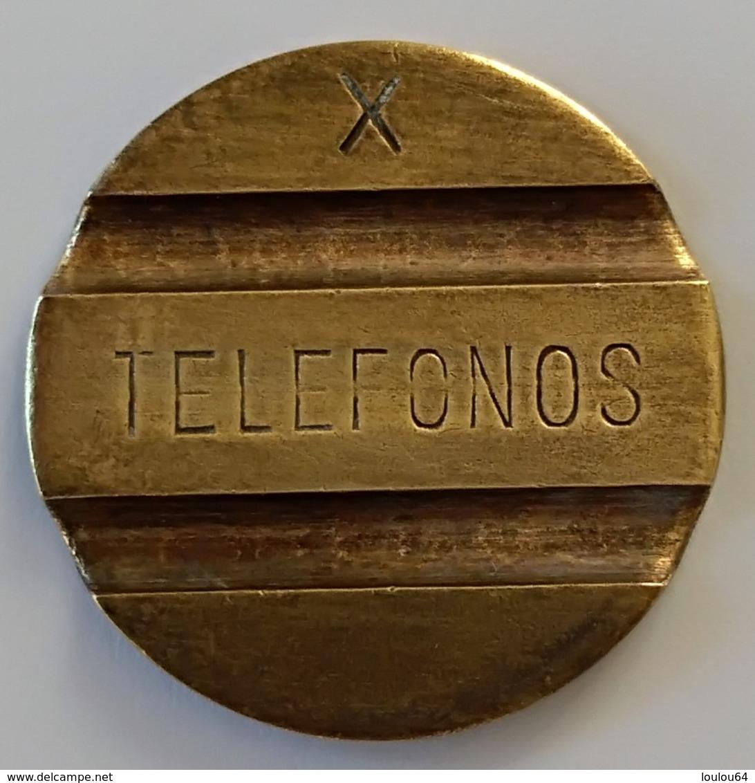 Jeton De Téléphone - Telefonos X - Espagne - TTB - - Professionals/Firms