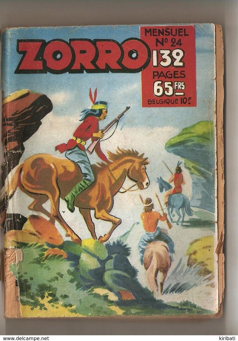 ZORRO  N°  24     BIMENSUEL - Libri, Riviste, Fumetti