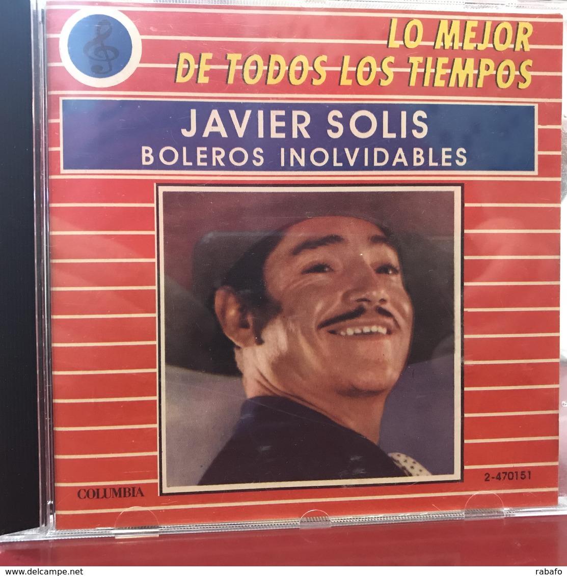 CD Recopilatorio De Javier Solís Año 1988 - Unclassified