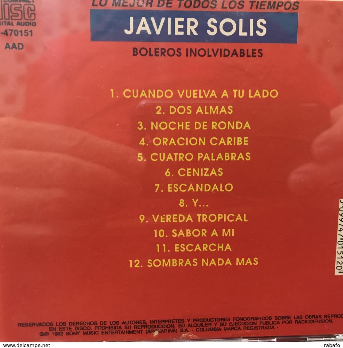 CD Recopilatorio De Javier Solís Año 1988 - Music & Instruments