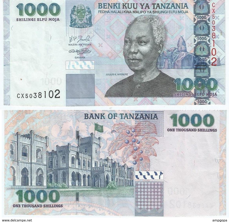 Tanzania 1.000 Shilingi 2006 Pick 36.b Ref 1432 - Tanzanie
