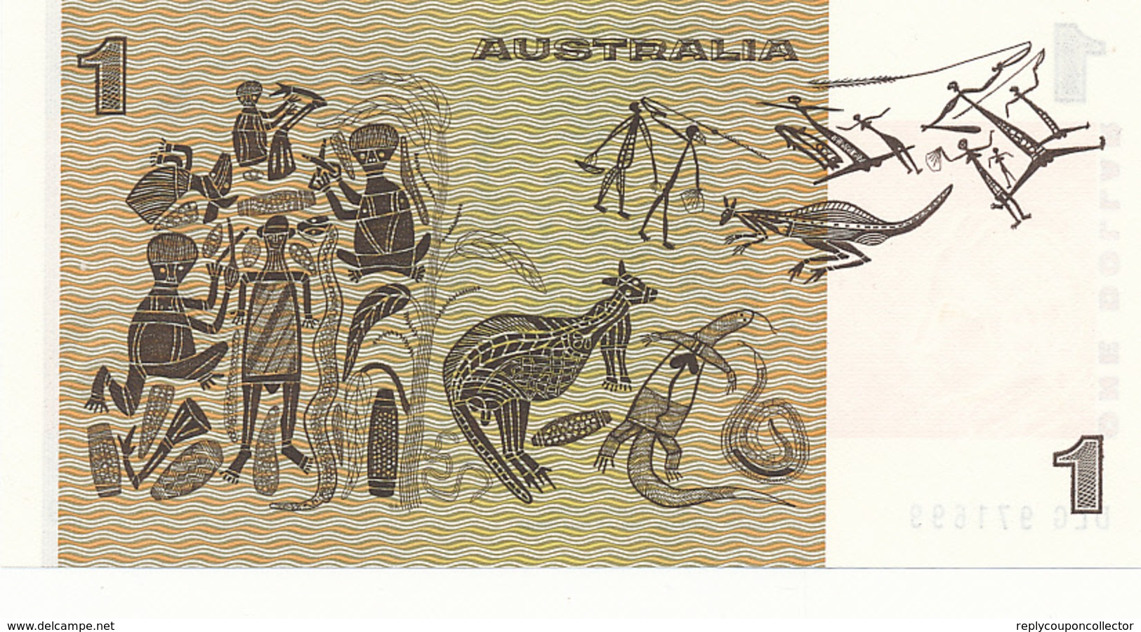AUSTRALIA - 1983 , 1 DOLLAR   Elizabeth II. - Bankfrisch - Lokale Munt