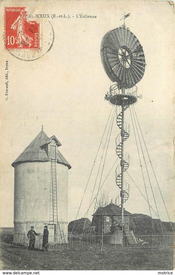 MARSAUCEUX - L'éolienne. - Châteaux D'eau & éoliennes