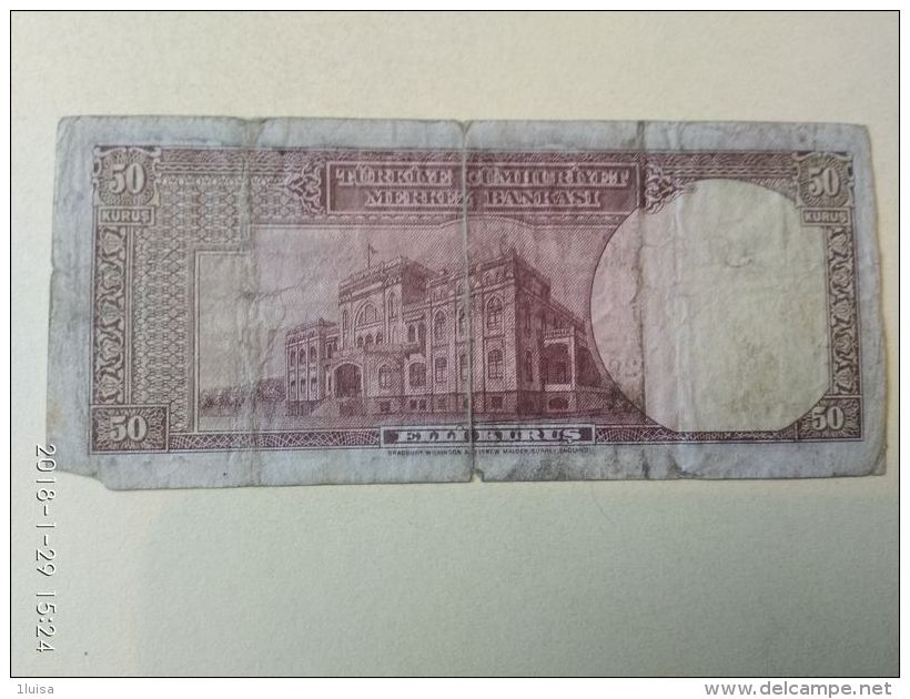 50 Lirasi 1930 - Turchia