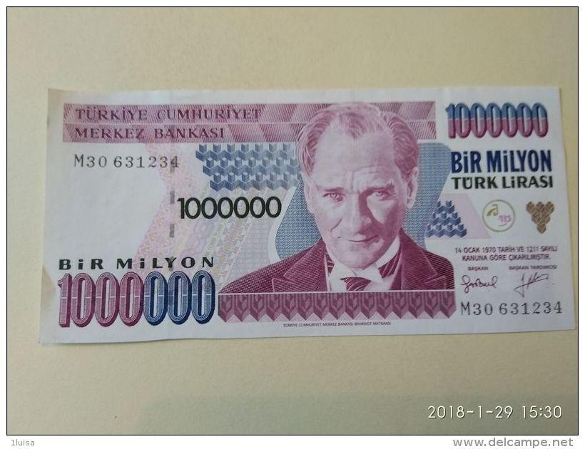 1000000 Lirasi 1970 - Turchia