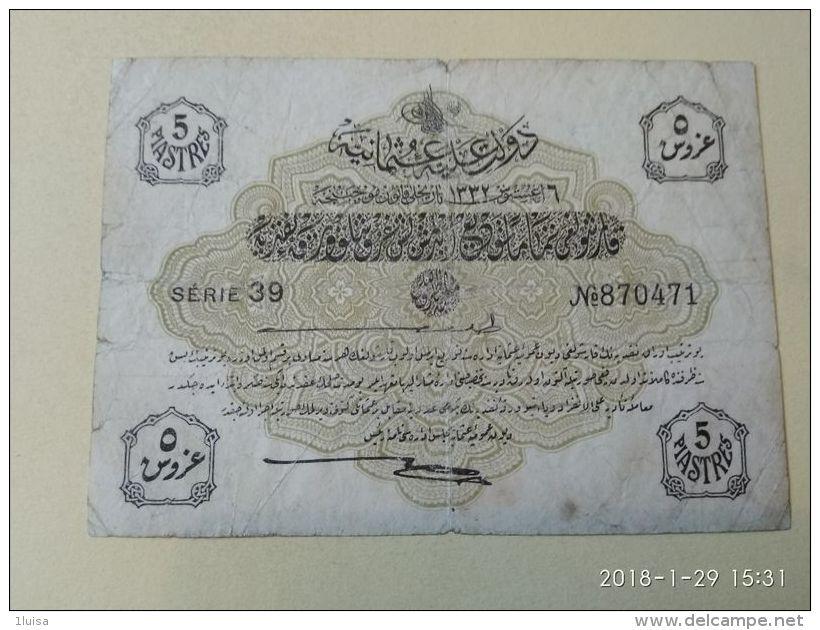 Impero Ottomano 5 Piastre - Turchia
