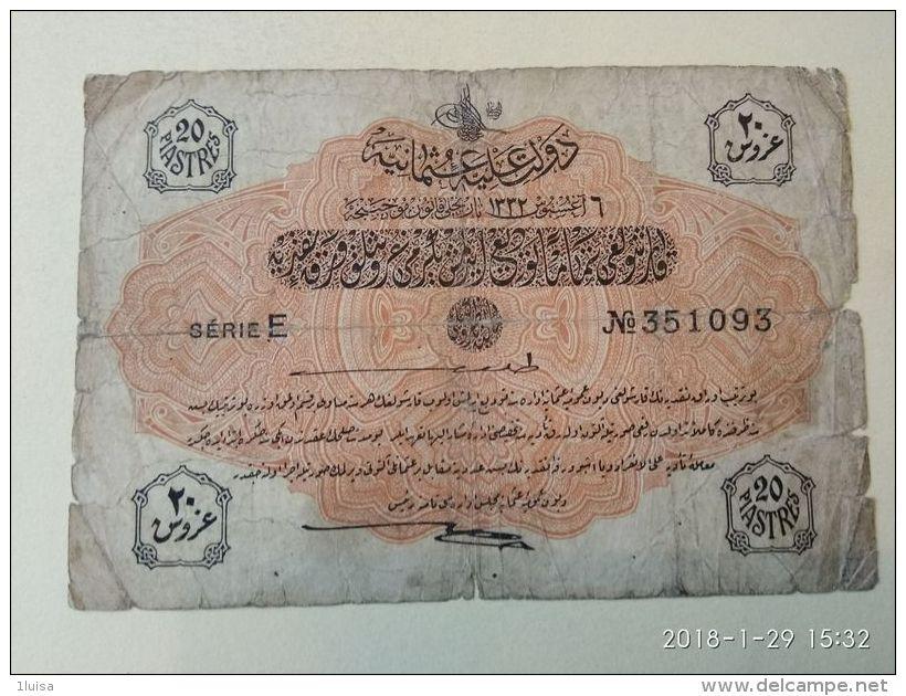 Impero Ottomano 20 Piastre - Turchia