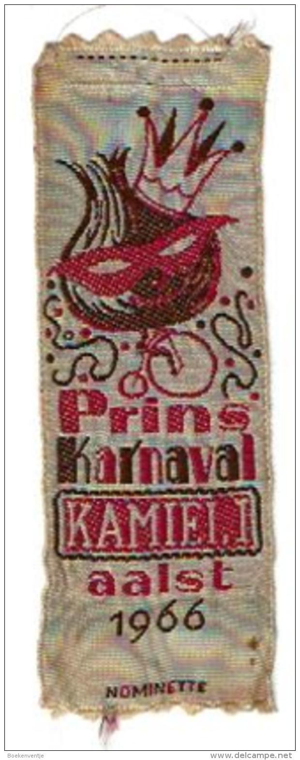 Nominetje Aalst Prins Karnaval Kamiel I Uit 1966 - Carnaval