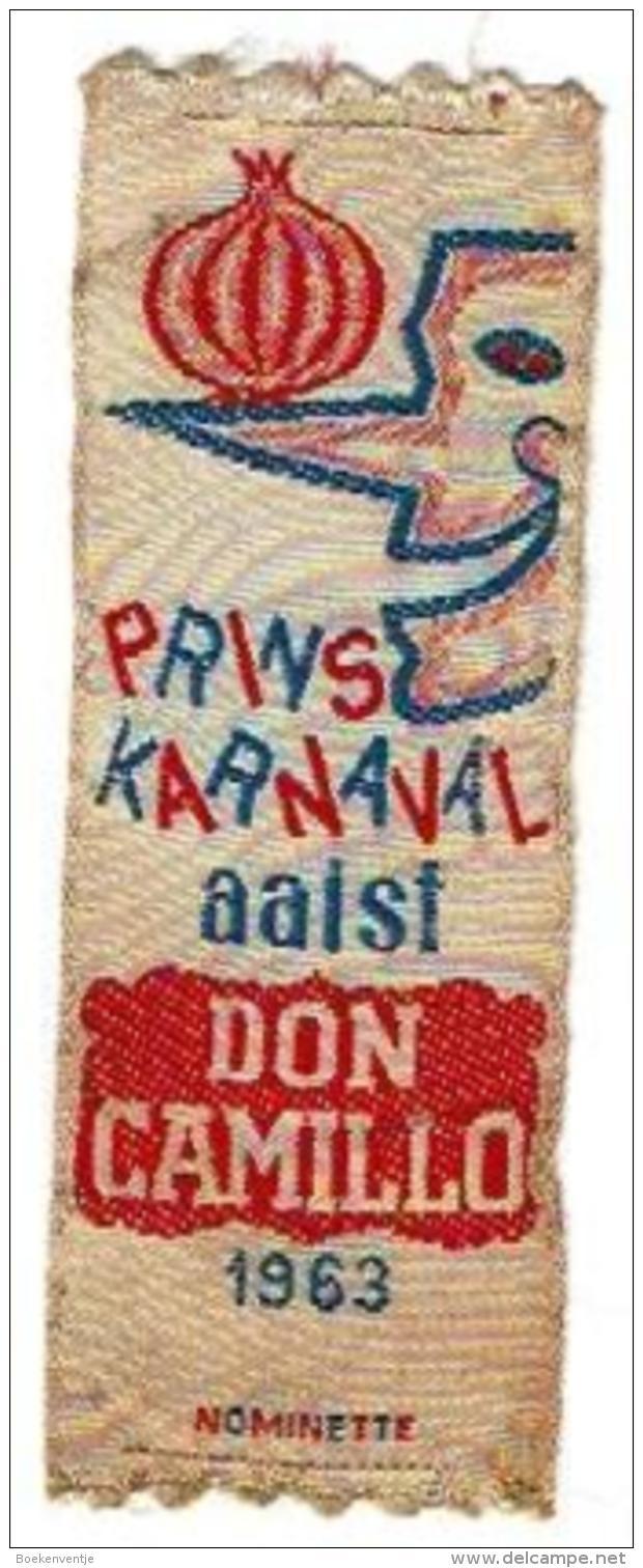 Nominetje Aalst Prins Karnaval Don Camillo 1963 - Carnaval