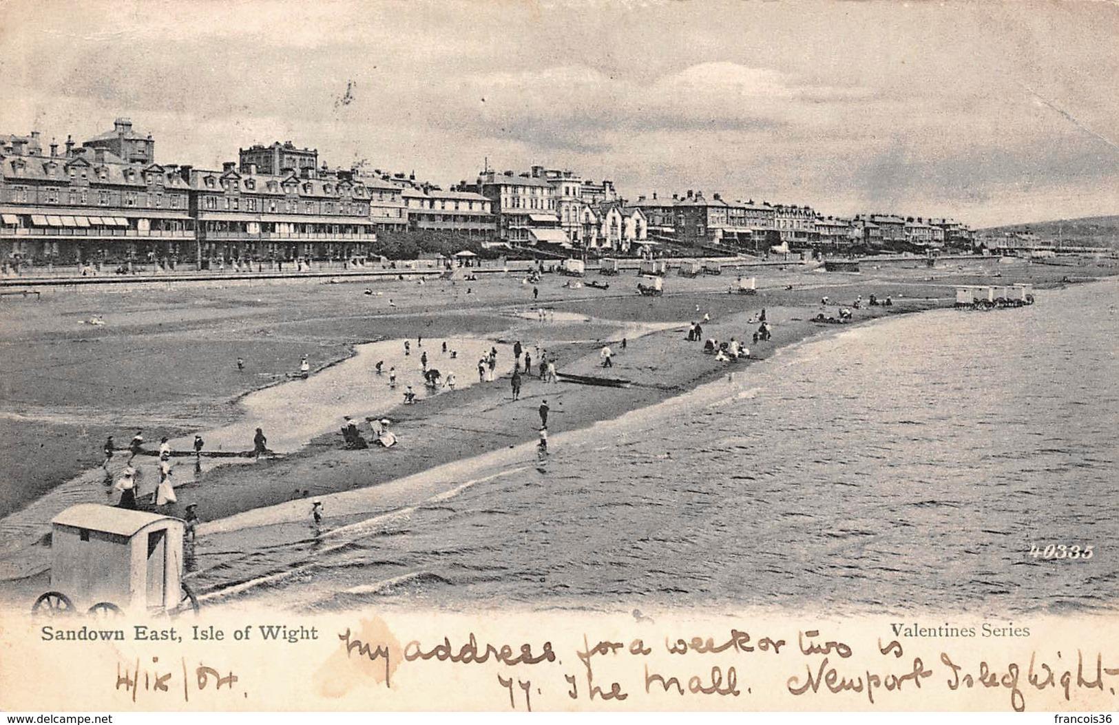Angleterre England - Isle Of Wight - Sandown East 1904 - Angleterre