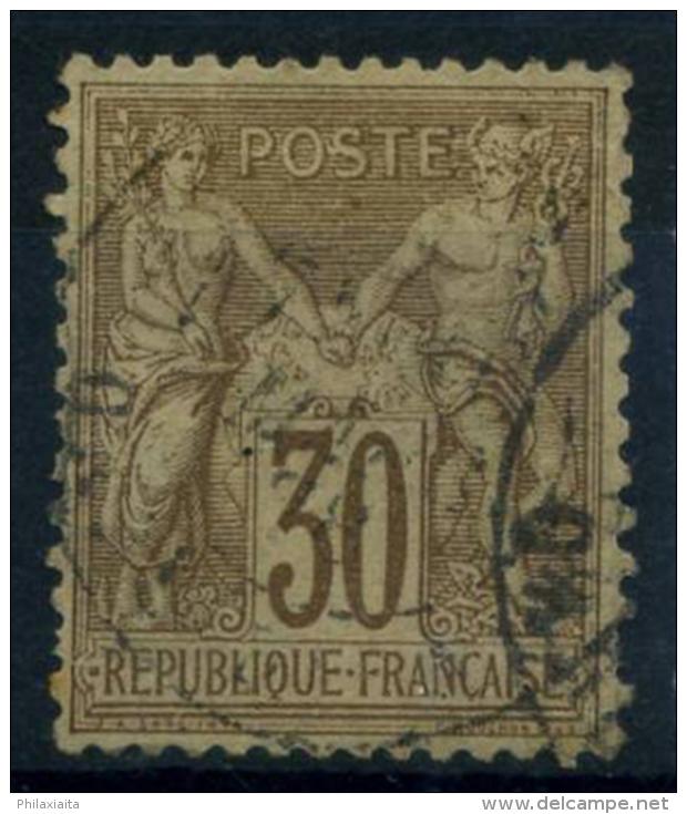 Francia 1876 Yv. 69 Usato 100% 30 C, Sage - 1876-1878 Sage (Type I)