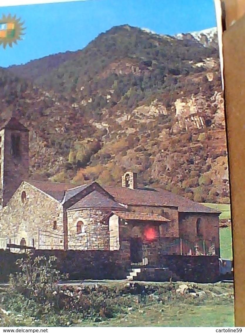 VALLS D' ANDORRA Paysage  Andorran Chapelle Romane De La Cortinada   N1975 GN21115 - Andorra