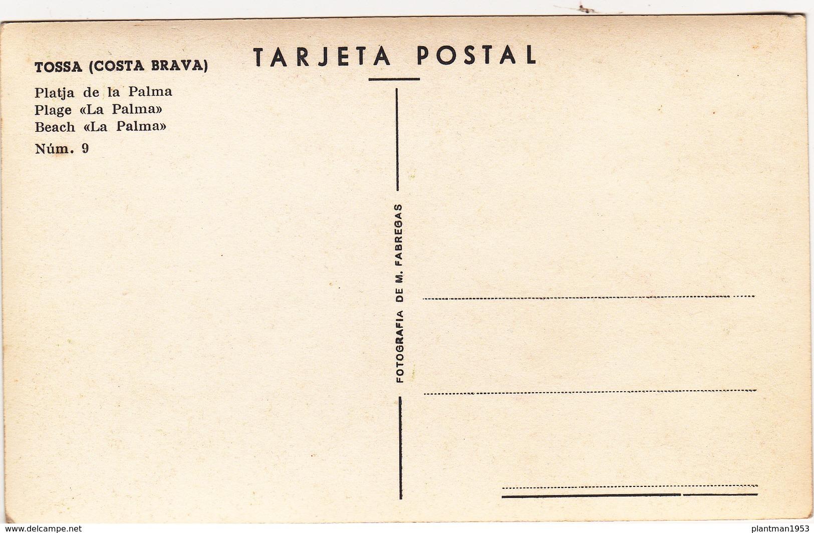 Small Multi View Postcard Of Tossa De Mar,Costa Brava, Catalonia, Spain.,Q76. - Spain