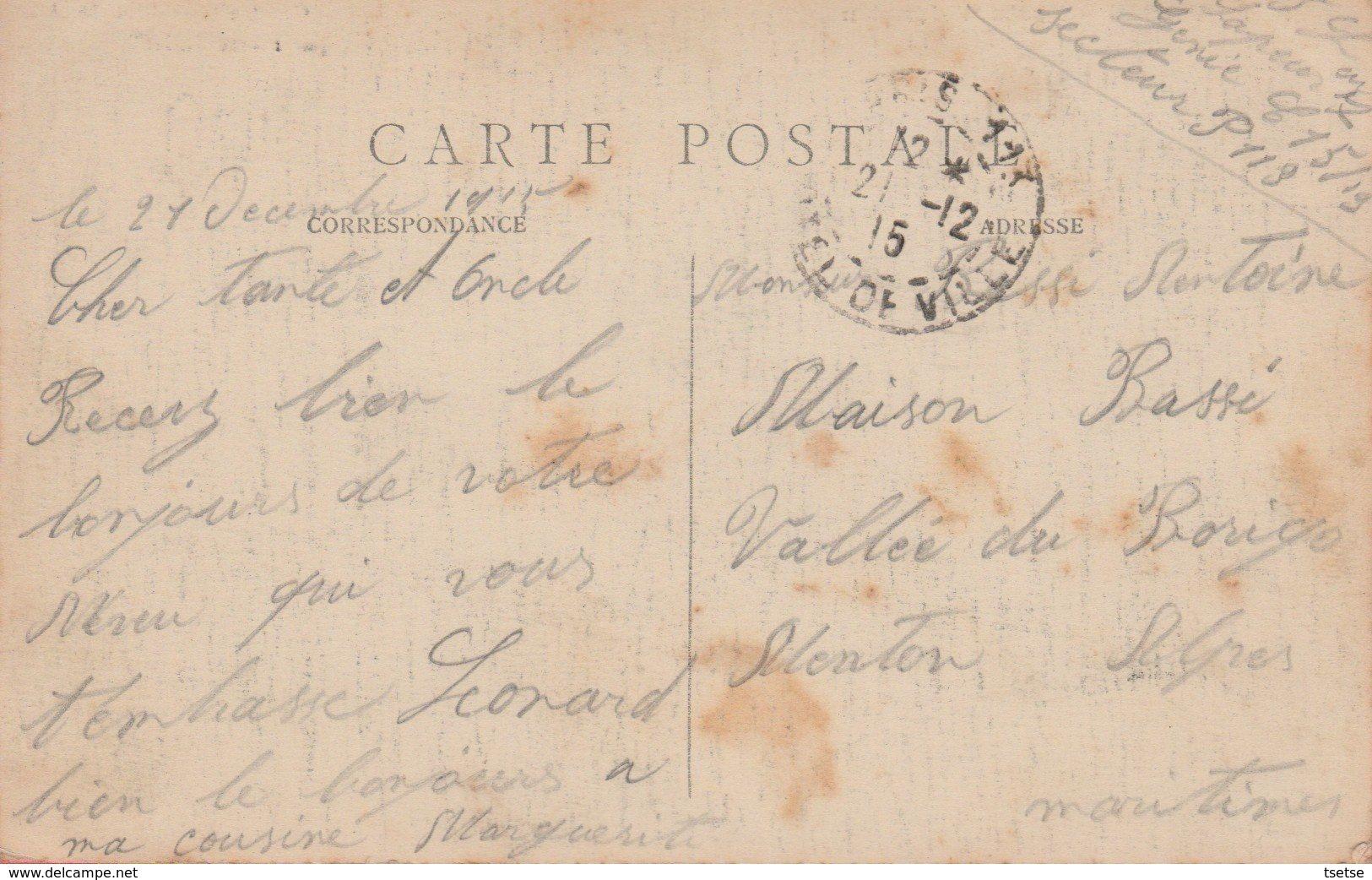 Paris - Porte St. Martin ... Construite En 1674 ... Belle Animation - 1915 ( Voir Verso ) - France