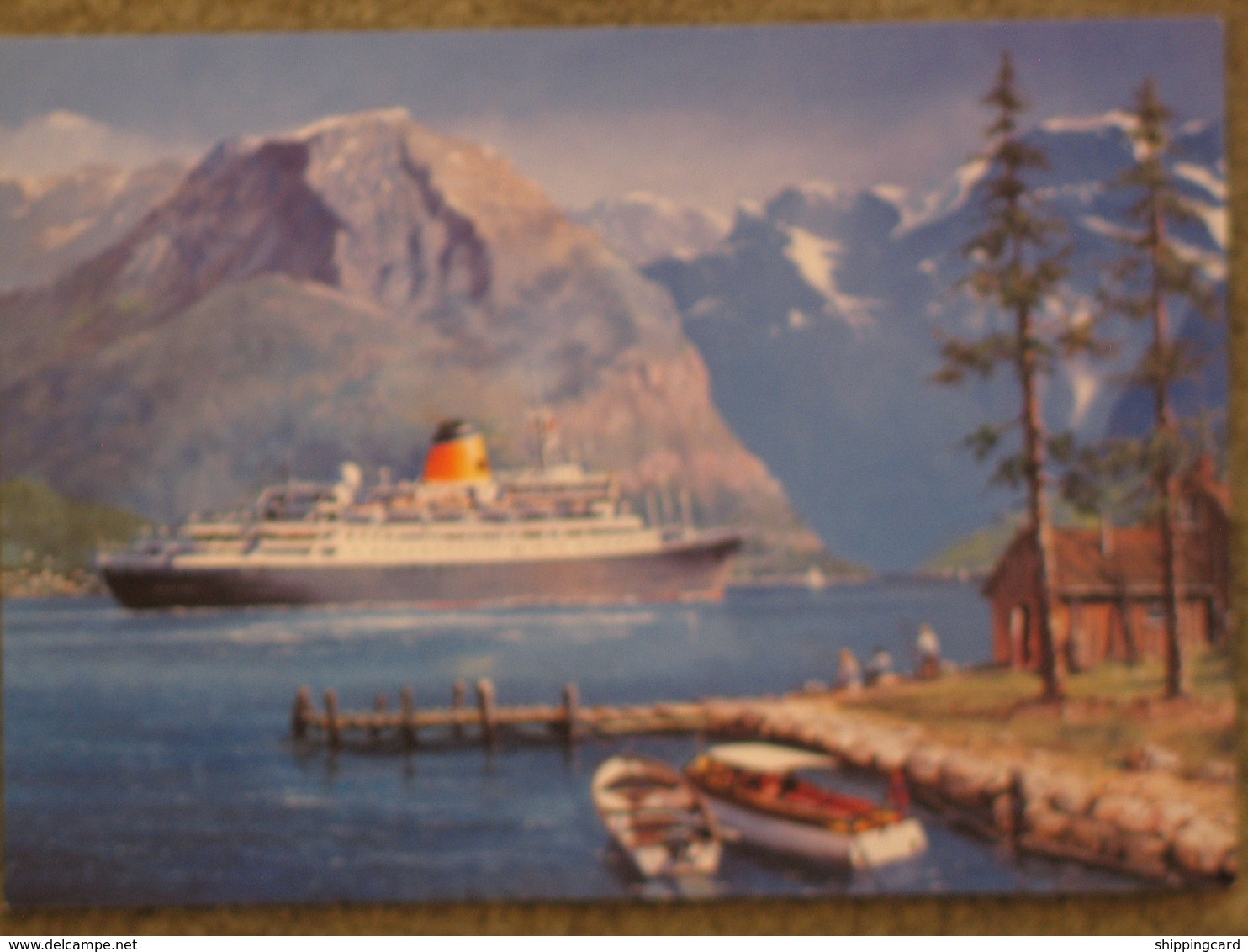 SAGA LINE SAGA ROSE VISITS NORWAY OFFICIAL - Dampfer