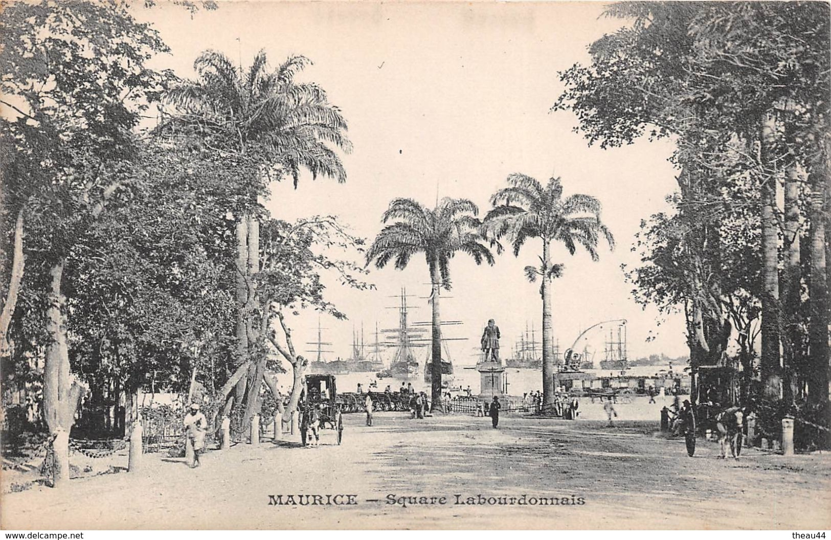 ¤¤  -  ILE MAURICE   -  Square Labourdonnais   -  ¤¤ - Maurice