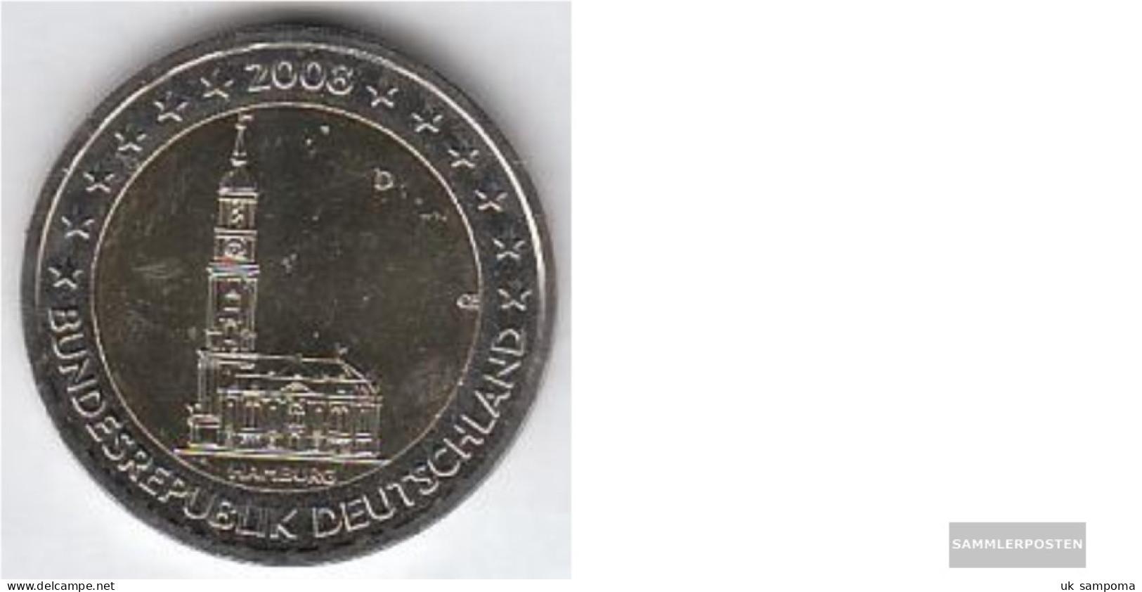 FRD (FR.Germany) Jägernr: 534 2008 D Stgl./unzirkuliert Stgl./unzirkuliert 2008 2 Euro Hamburger Michel - Germany