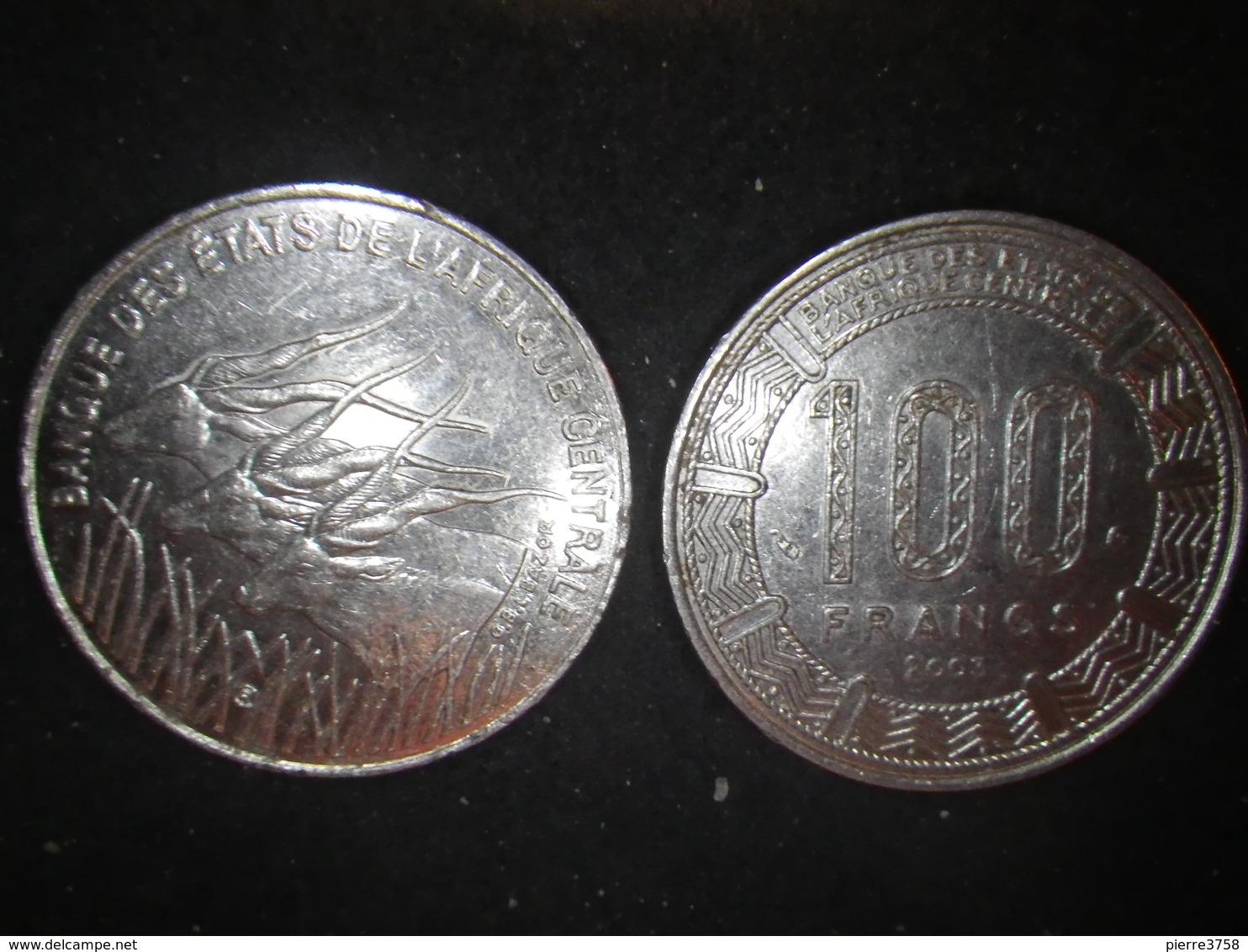 Cent Francs (2 Piéces) - Sénégal
