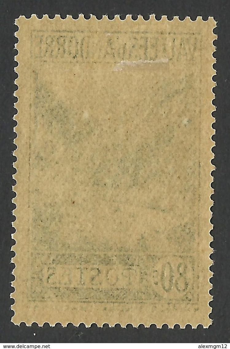 Andorra, 80 C. 1940, Sc # 46A, MH - Unused Stamps