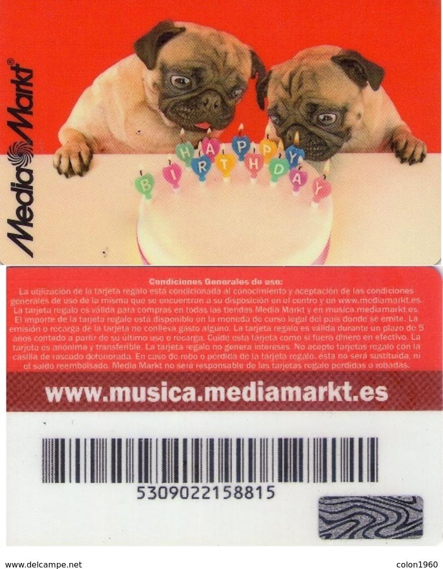 TARJETA REGALO DE ESPAÑA, GIFT CARD. MEDIA MARKT. 001. - Tarjetas De Regalo