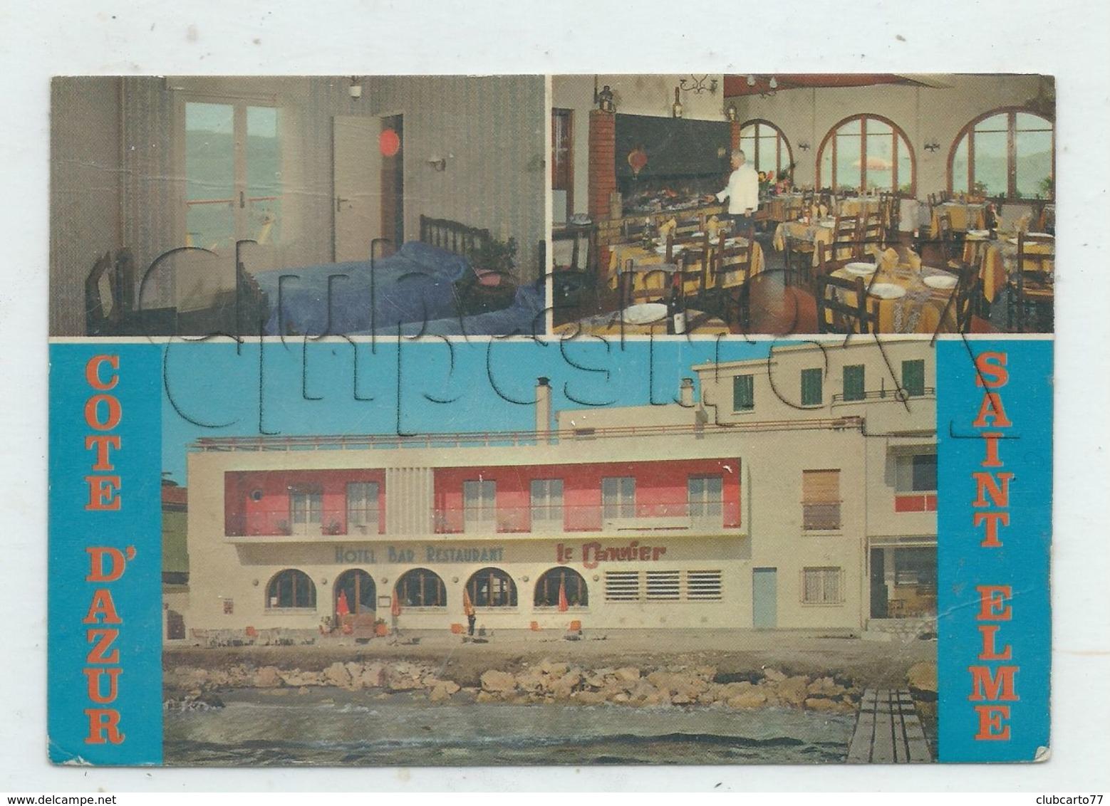 """La Seyne-sur-Mer (83) : 3 Vues De L'Hôtel Restaurant """"Le Cannier"""" En 1979 (animé) GF. - La Seyne-sur-Mer"""