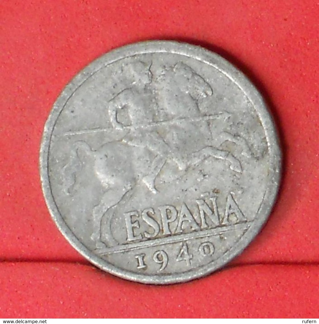 SPAIN 10 CENTS 1940 -    KM# 766 - (Nº20181) - [ 4] 1939-1947 : Nationalist Government