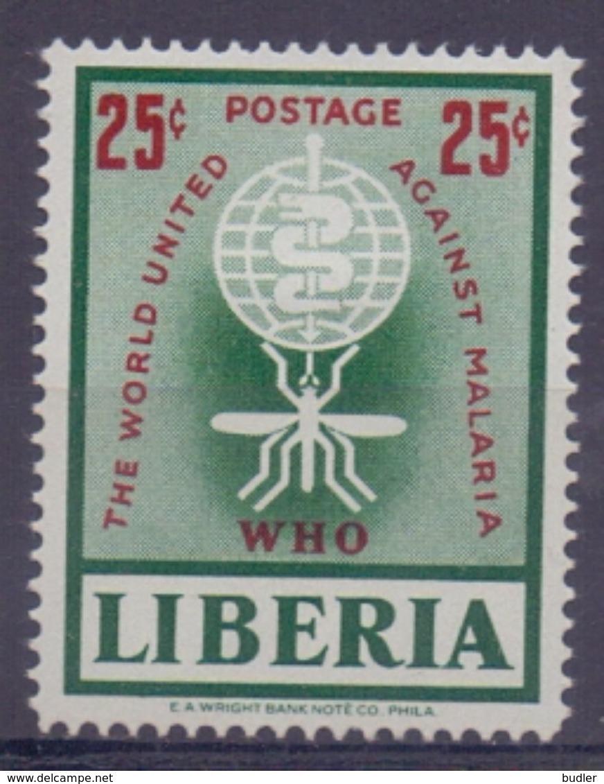 Rep. Of LIBERIA :1962: Y.380&PA133 Dentelled/neuf/MNH : ## The World United Against MALARIA ## : PALUDISME,HEALTH,SANTÉ, - Liberia