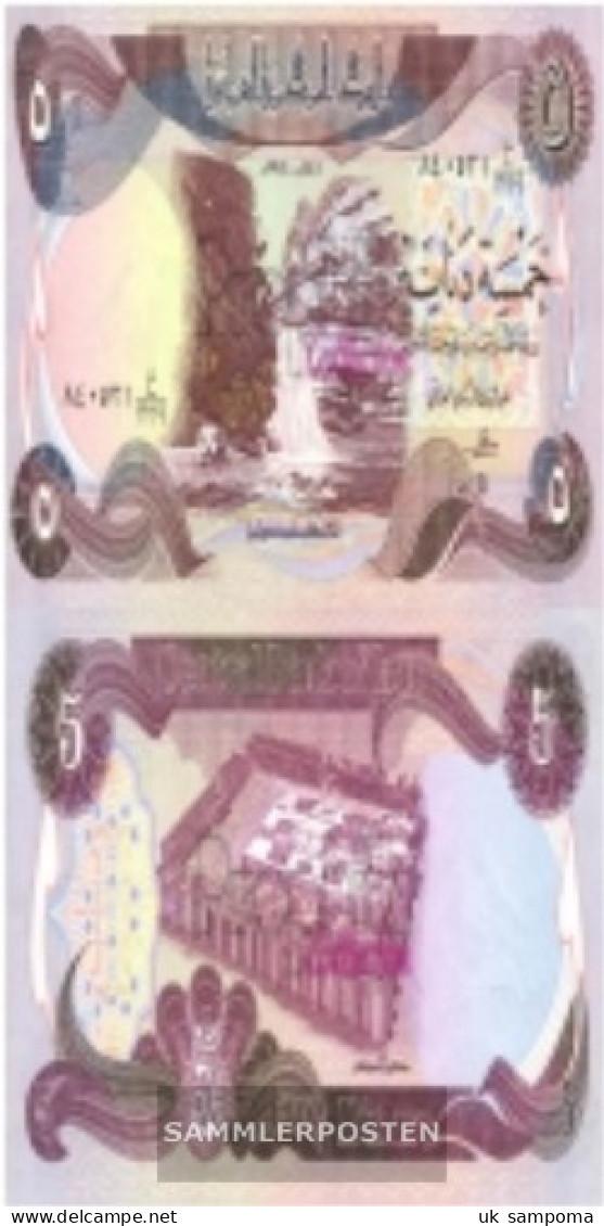 Iraq Pick-number: 70a Uncirculated 1981 5 Dinars - Iraq