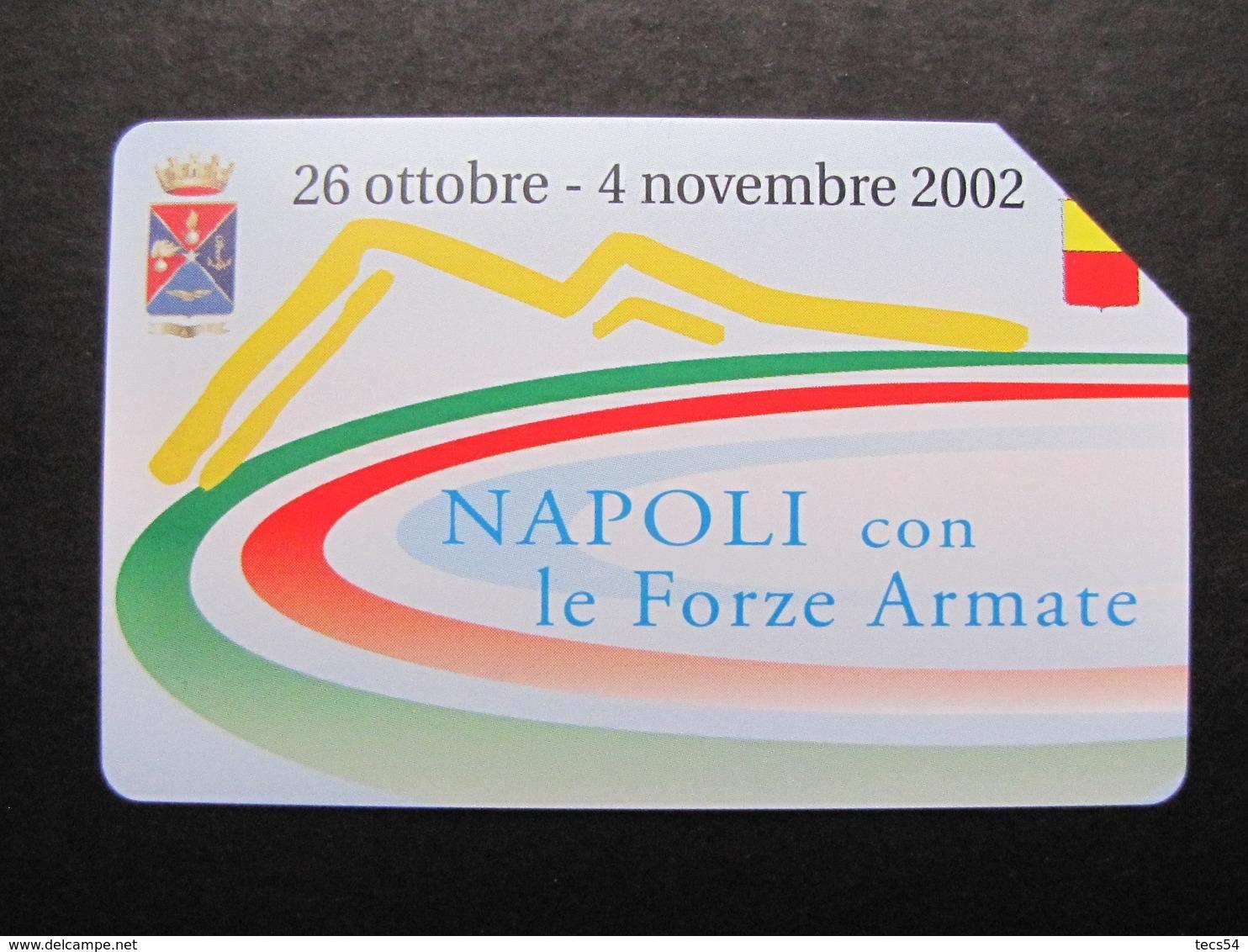 103 GOLDEN EURO - NAPOLI CON LE FORZE ARMATE - USATA - Public Advertising