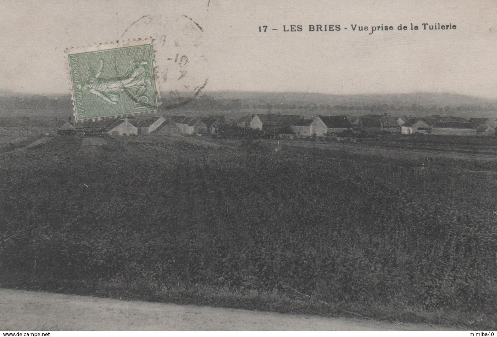 LES BRIES - Vue Prise De La Tuilerie - - Other Municipalities