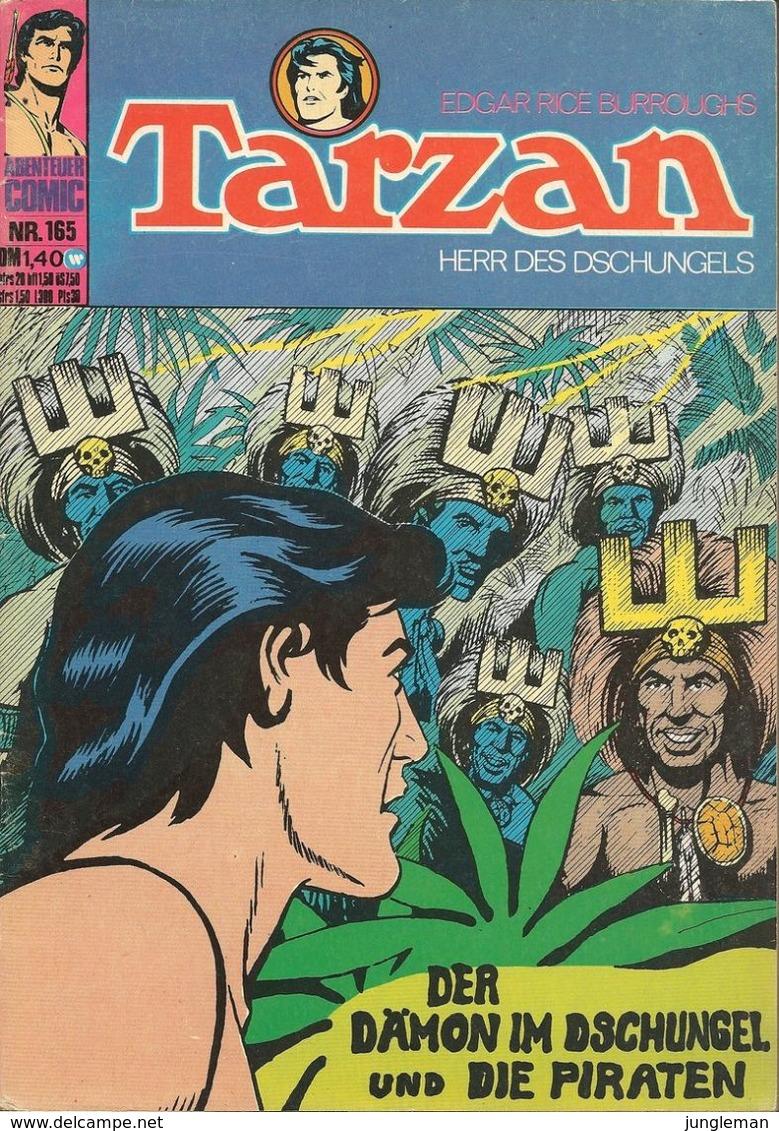 Tarzan Herr Des Dschungels N° 165 - En Allemand - 1974 - Williams Verlag GmbH - TBE - Autres