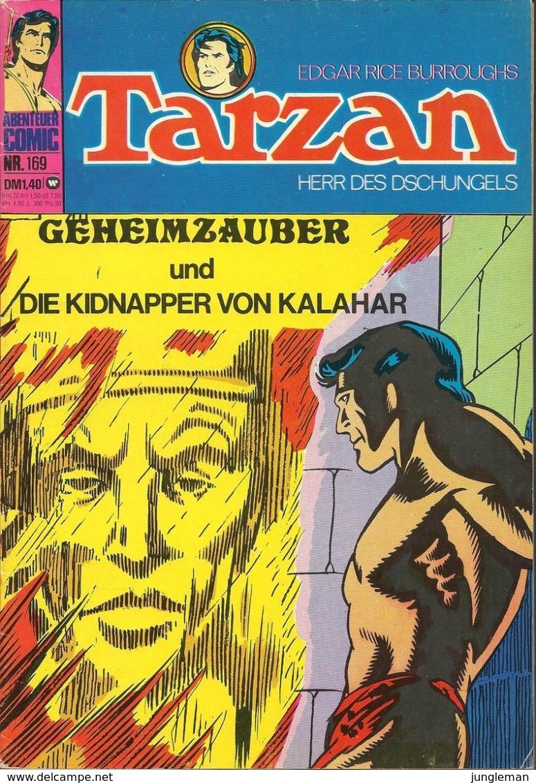 Tarzan Herr Des Dschungels N° 169 - En Allemand - 1974 - Williams Verlag GmbH - TBE - Livres, BD, Revues