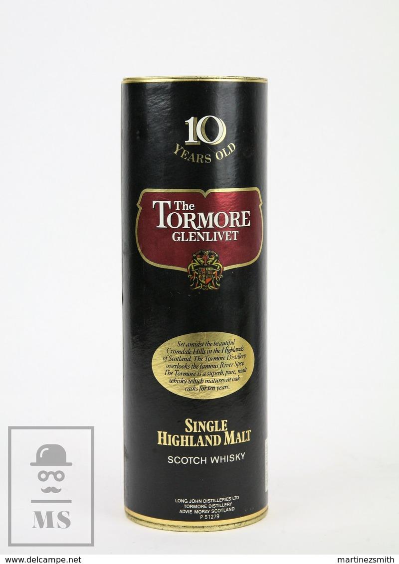 Empty The Tormore Glenlivet Single Highland Malt Scotch Whisky Presentation Box - Otros