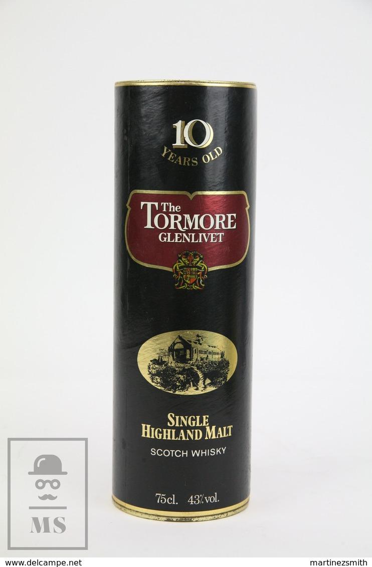 Empty The Tormore Glenlivet Single Highland Malt Scotch Whisky Presentation Box - Otras Colecciones