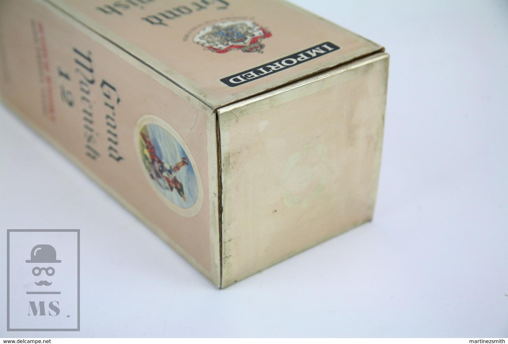 Empty Grand Macnish 12 Years Old Scotch Whisky Presentation Box - Otras Colecciones