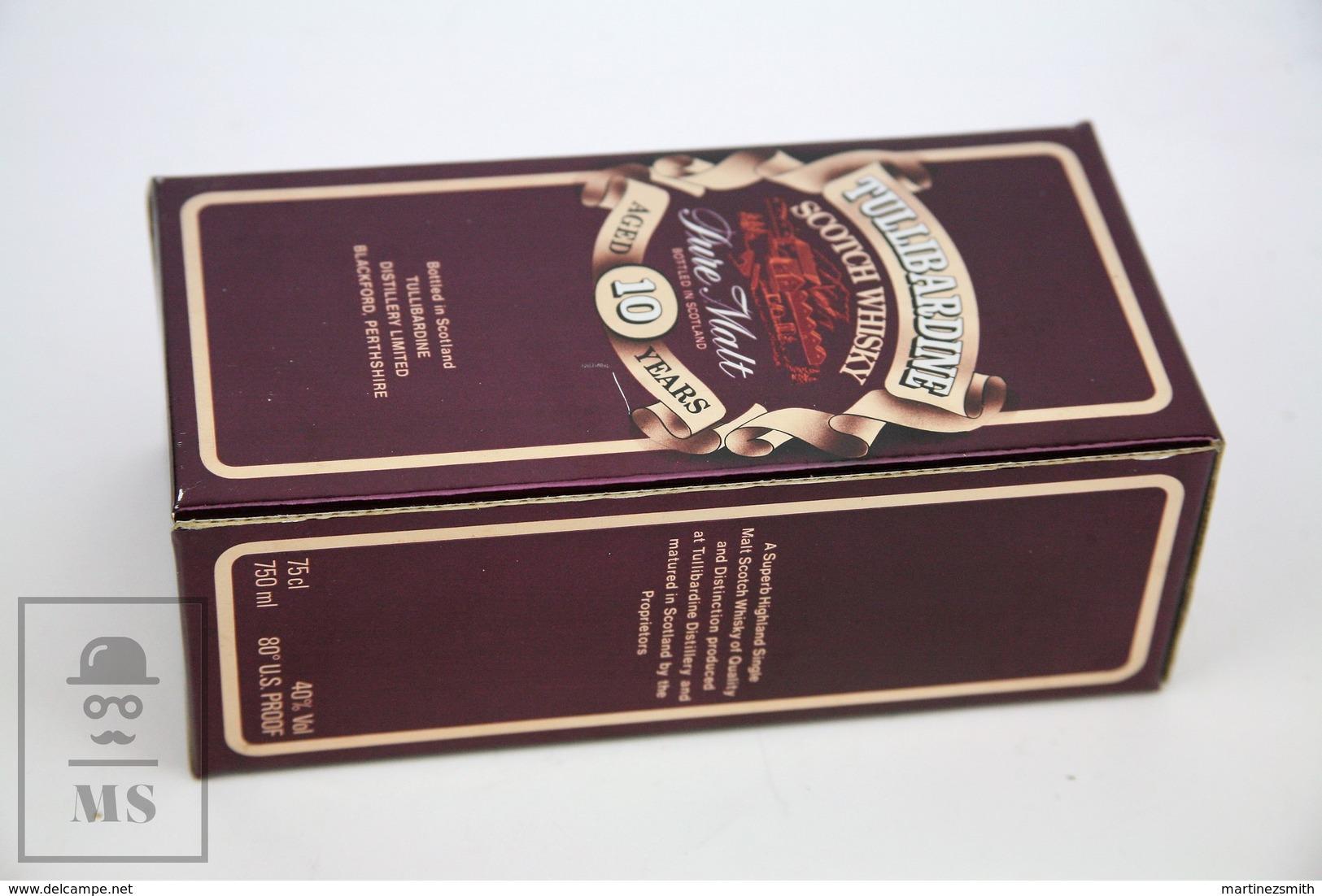 Empty Tullibardine Pure Malt Scotland Scotch Whisky Presentation Box 1980 - Otras Colecciones